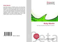 Bookcover of Ricky Martin
