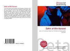 Bookcover of Zahir al-Din Karawi