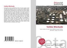Buchcover von Valdez Blockade