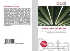Обложка Robert Rich (Musician)