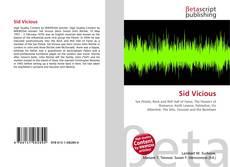 Capa do livro de Sid Vicious