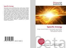 Copertina di Specific Energy
