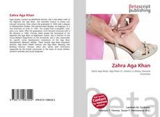Buchcover von Zahra Aga Khan