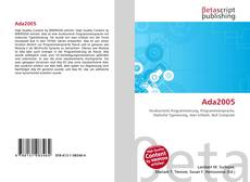 Bookcover of Ada2005