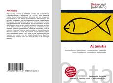 Bookcover of Actinistia
