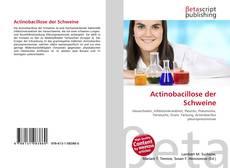 Actinobacillose der Schweine kitap kapağı