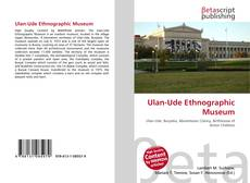 Bookcover of Ulan-Ude Ethnographic Museum