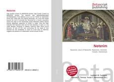 Buchcover von Notzrim