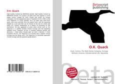 Обложка O.K. Quack
