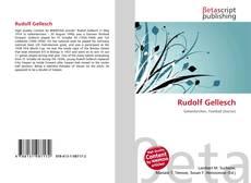 Обложка Rudolf Gellesch