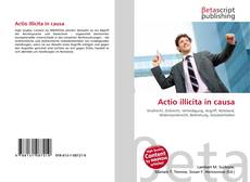 Bookcover of Actio illicita in causa