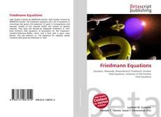 Copertina di Friedmann Equations
