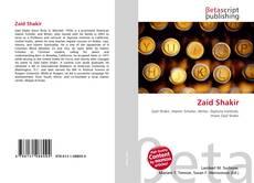 Zaid Shakir kitap kapağı