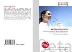 Bookcover of Actio negatoria