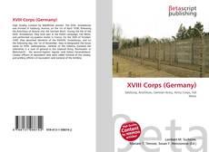 Copertina di XVIII Corps (Germany)
