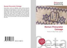 Borítókép a  Roman Procurator Coinage - hoz