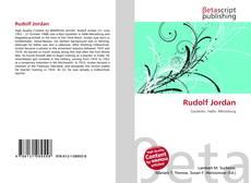 Bookcover of Rudolf Jordan