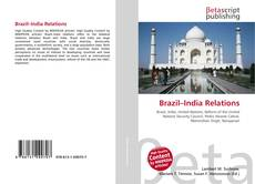 Bookcover of Brazil–India Relations