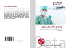 Buchcover von Zahra Bani Yaghoub
