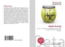 Bookcover of Ralph Kronig