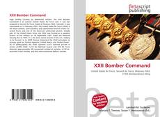 Bookcover of XXII Bomber Command