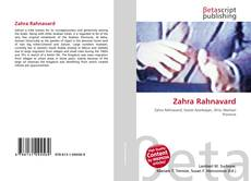 Bookcover of Zahra Rahnavard