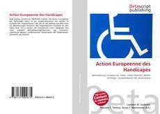 Couverture de Action Europeenne des Handicapes