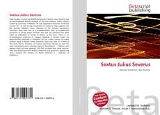 Portada del libro de Sextus Julius Severus