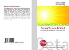 Racing Victoria Limited kitap kapağı