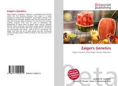 Capa do livro de Zaiger's Genetics