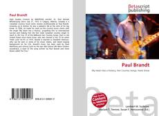 Bookcover of Paul Brandt