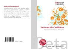 Обложка Sacerdotalis Caelibatus