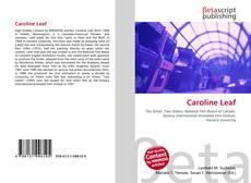 Buchcover von Caroline Leaf