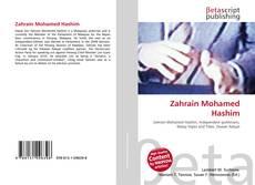 Copertina di Zahrain Mohamed Hashim