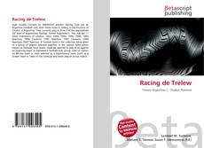 Portada del libro de Racing de Trelew