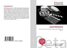 Zaid Mohseni kitap kapağı