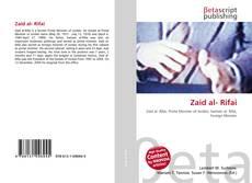 Zaid al- Rifai kitap kapağı
