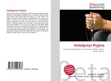 Bookcover of Volodymyr Pryjma