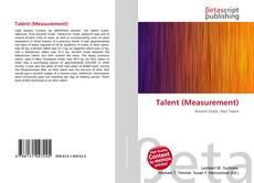 Copertina di Talent (Measurement)