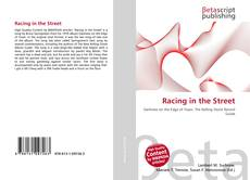 Bookcover of Racing in the Street