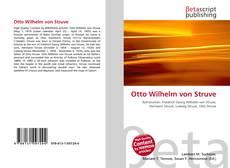 Обложка Otto Wilhelm von Struve