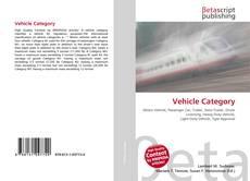 Couverture de Vehicle Category