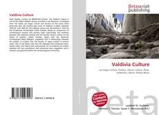 Valdivia Culture kitap kapağı