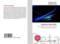 Valdivia Pulp Mill kitap kapağı