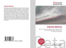 Bookcover of Vehicle Metrics