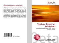 Couverture de Valdivian Temperate Rain Forests