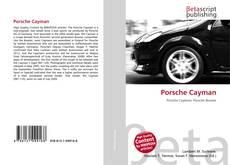 Обложка Porsche Cayman