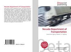 Nevada Department of Transportation kitap kapağı