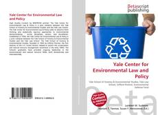 Bookcover of Yale Center for Environmental Law and Policy