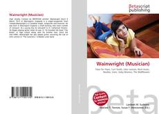 Portada del libro de Wainwright (Musician)